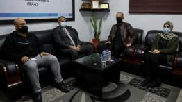بيت الصحافة يستقبل وفدا من كلية الإعلام جامعة الأقصى