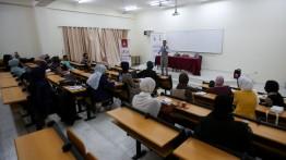 بيت الصحافة بالشراكة مع جامعة الأقصى ينظم ورشتي توعية قانونية لطلبة كلية الإعلام