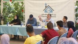 فريق فكرة الشبابي برعاية بيت الصحافة ينظم لقاءً سياسيا