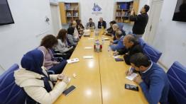 بيت الصحافة يعقد جلسة نقاش مع توماس نكلاسن القائم بأعمال رئيس الممثلية الأوروبية في الضفة والقطاع والأونروا