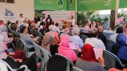 من بيت الصحافة: إطلاق فعاليات الحملة الوطنية للتوعية بسرطان الثدي في غزة