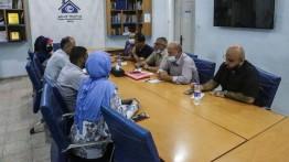 بيت الصحافة يستقبل وفدًا من كلية الإعلام بجامعة الأقصى