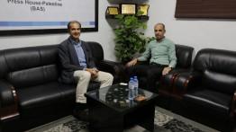 بيت الصحافة يستقبل نائب القنصل العام الاسباني