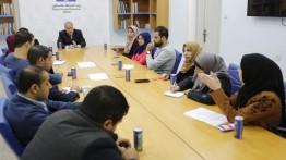 بيت الصحافة وافتكس يعقدان مجموعة بؤرية ضمن الدراسة المسحية حول واقع الإعلام في فلسطين
