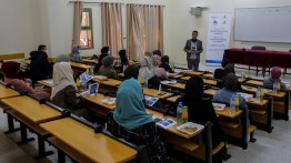 بيت الصحافة بالتعاون مع جامعة الأقصى يعقدان عدة تدريبات حول دليل الحماية القانونية للصحفيين