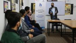 بيت الصحافة يعقد 4 لقاءات تدريبية في رفح حول دليل الحماية القانونية للصحفيين