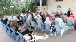صالون نون يستعرض 'الضلع الثالث' وحياة الكاتب غريب عسقلاني في بيت الصحافة بغزة