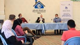 """الصالون الثقافي في بيت الصحافة يعقد ندوة بعنوان """" الأدب الفلسطيني وحرية التعبير عن الرأي """""""