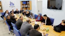 النقابة والأطر والمؤسسات الاعلامية والحقوقية تجتمع ببيت الصحافة لمناقشة قرار الإعلام الحكومي حول البطاقة الصحفية