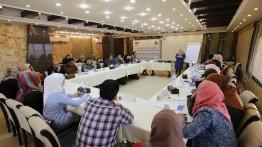 بيت الصحافة يعقد نقاش مفتوح حول قضايا التعليم في قطاع غزة
