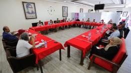 بيت الصحافة ينظم لقاء حواريا حول العمل السينمائي والمسرحي الفلسطيني وسط قطاع غزة