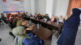 بيت الصحافة ينهي سلسلة جلسات توعية ينفذها بالتعاون مع مؤسسات المجتمع المدني في قطاع غزة