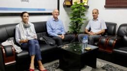 السفير السويسري يزور بيت الصحافة