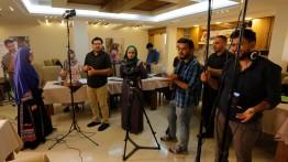 بيت الصحافة يعقد دورة تدريبية بعنوان صناعة الفيلم القصير