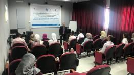 بيت الصحافة ومركز الاعلام في النجاح ينظمان ورشة حول القانون الدولي الإنساني