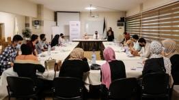بيت الصحافة ينظم جلسة نقاش حول الابتزاز الإلكتروني في القانون الفلسطيني
