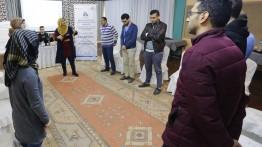 بيت الصحافة يعقد ورشة عمل تدريبية لموظفيه حول إدارة الضغوط