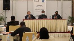 بيت الصحافة ينظم لقاءًا حواريًا مع نائب نقيب الصحفيين ووحدة الحماية القانونية