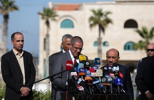 بيت الصحافة يشرف على الترتيبات الإعلامية لزيارة رؤساء بعثات دول الاتحاد الأوروبي لغزة