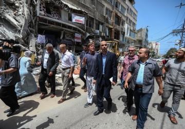 بيت الصحافة يشرف إعلاميًا على تنظيم زيارة ممثل الإتحاد الأوروبي في فلسطين لغزة