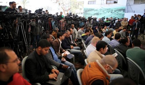 مؤتمر نيكولاي ميلادينوف في بيت الصحافة