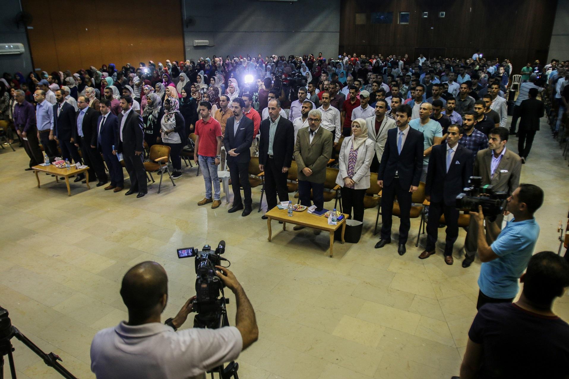 انطلاق مهرجان برنامج محاكاة الأمم المتحدة بغزة