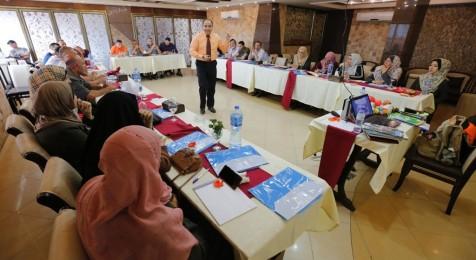 تنفيذ مبادرة بناء قدرات العاملين في العلاقات العامة لآليات التواصل مع الجمهور
