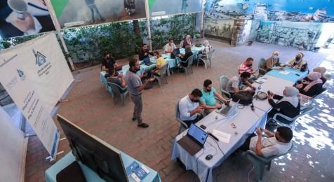 جلسة تغريد دعمًا لحقوق الصحفيين في بيت الصحافة