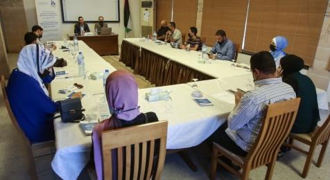 """جلسة حوارية حول """"واقع الحريات الإعلامية في الربع الأخير من عام 2021"""