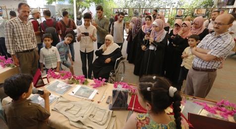 بيت الصحافة يستضيف معرض مقتنيات شهداء الصحافة