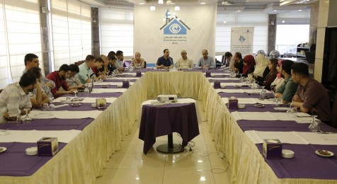 لقاء حق حرية الحركة للصحفيين الفلسطينيين