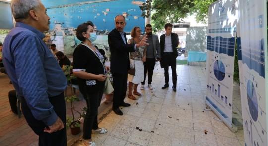 وفد من السفارة النرويجية يزور بيت الصحافة