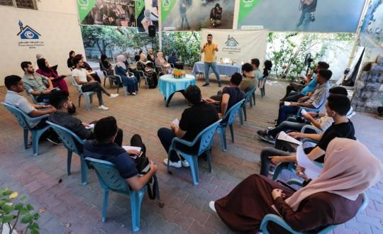 """ورشة عمل حول """"واقع ومستقبل الصحافة الاستقصائية في فلسطين"""""""