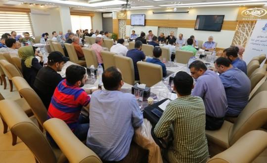 بيت الصحافة ينظم لقاءً حوارياً مع الإدارة العامة لشرطة المرور في غزة