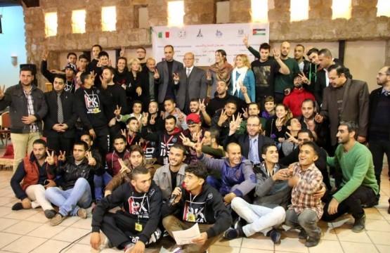 انطلاق فعاليات مهرجان تبادل الثقافات والتدريب بين ايطاليا وغزة