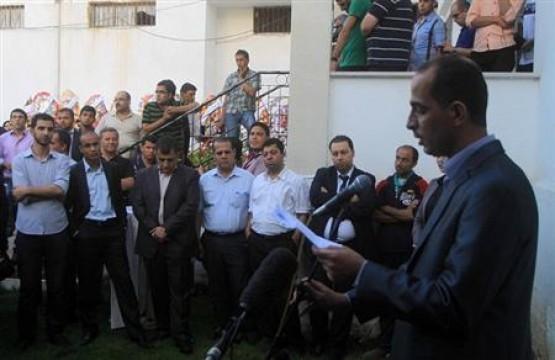 كلمة رئيس مجلس إدارة بيت الصحافة - فلسطين