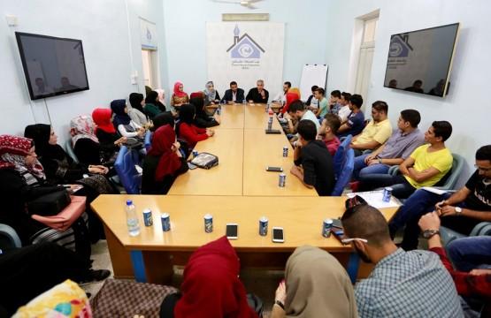 فريق الصحفيين الشباب ينفذ لقاء حول الإعلام الشبابي والمصالحة