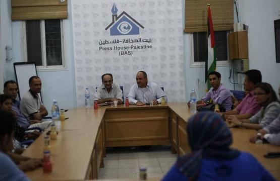 بيت الصحافة تنظم لقاءً بين رئيس الوطنية موبايل وعدد من الاعلاميين والكتاب