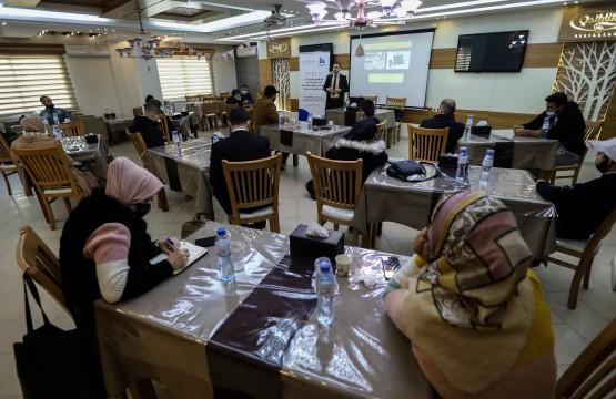 ورشة توعية قانونية للصحفيين أثناء تغطية الانتخابات
