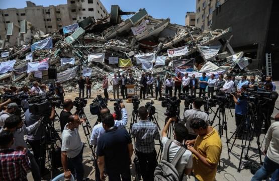 مؤتمر صحفي لممثل الإتحاد الأوروبي في فلسطين