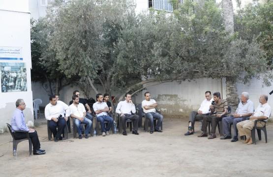 بيت الصحافة تستضيف برنامج تلفزيوني لقناة الغد العربي