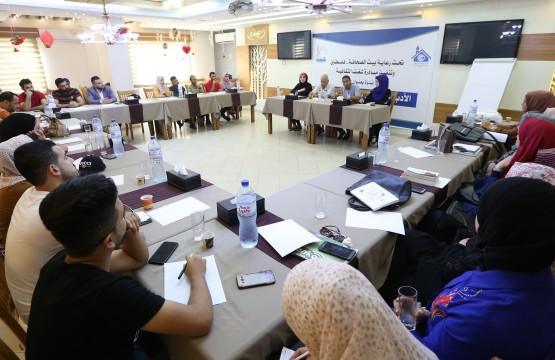 """مبادرة 'شغف' برعاية بيت الصحافة تنظم ندوة بعنوان 'الأدب الفلسطيني وخطاب الكراهية"""" في غزة"""