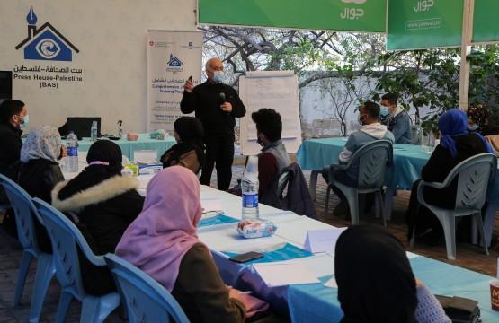 مخرجات دورة التحرير الصحفي ضمن برنامج الصحفي الشامل 2021