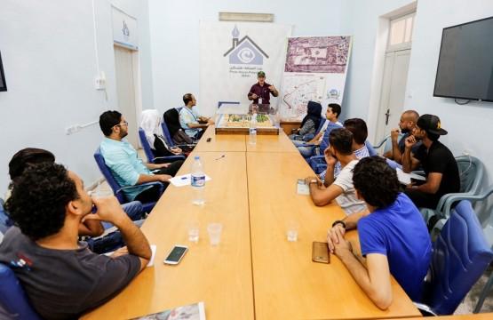 فريق الصحفيين الشباب ينظم جلسة تثقيفية حول مدينة القدس