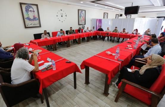 بيت الصحافة ينظم لقاء حواريا حول العمل السينمائي والمسرحي الفلسطيني