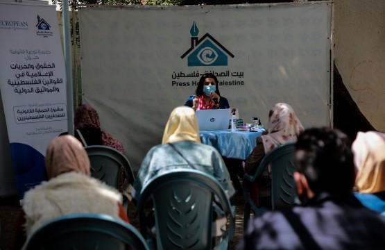 جلسة توعية للصحفيين حول الإشاعة والخبر الكاذب في القانون الفلسطيني