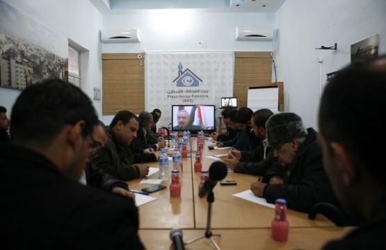"""بيت الصحافة تنظم لقاءً خاصا للصحفيين مع عضو اللجنة المركزية لحركة""""فتح""""د.محمد اشتيه"""