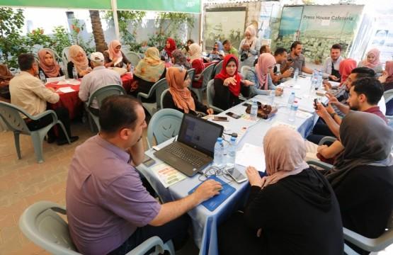 بيت الصحافة يستضيف جلسة تغريد لحملة حقي حقك