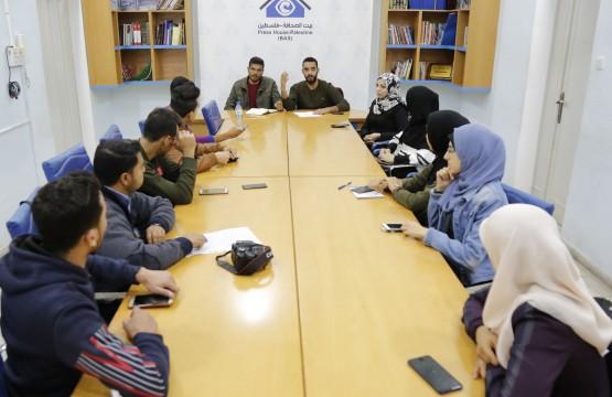 مركز دراسات المجتمع المدني ينفذ مجموعة بؤرية بالتعاون مع بيت الصحافة