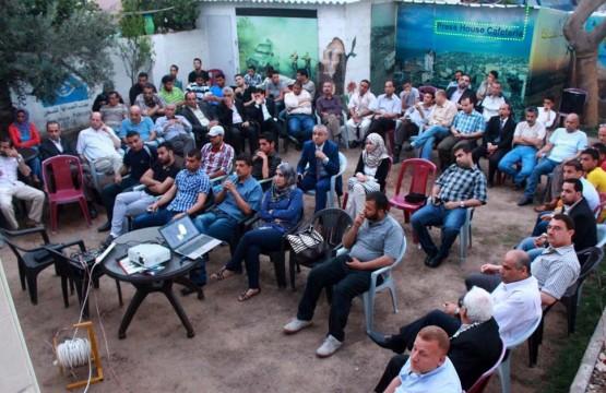 """فيلم """"جنود بلا بنادق"""" من إنتاج فضائية فلسطين يعرض في بيت الصحافة"""